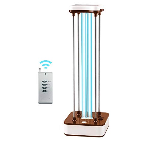 36W Germicidal UV Light, Ultraviolet Germicidal Light 110V Air Sterilizer, UVC Disinfection Light Kills 99.9% of Mold Bacteria Germs and Viruses for Household Pets(Without Ozone)