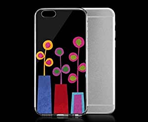 Light weight with strong PC plastic case for iphone 5 5s Artists Challis & Roos Summer Vases