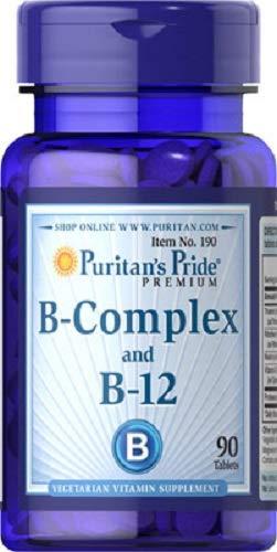 VITAMINA B12 Y B COMPLEX 90 COMPRIMIDOS (MEMORIA Y STRESS)