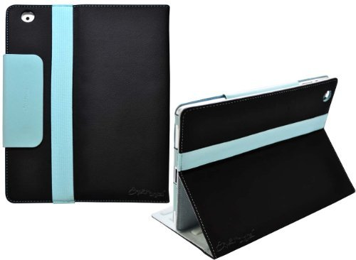 Ionic 2-Tone Designer Leather Case Cover with stand for iPad Air