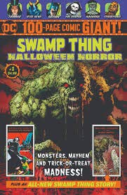 (DC Swamp Thing Halloween Horror Giant #1 100 Page Walmart Exclusive Comic Book + Zatanna - Blue Devil - Batman &)