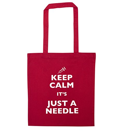 Keep it's calm Flox Red needle bag a just Creative tote aa75wrq