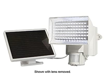 MAXSA Innovations 40225 Solar-Activated 80 LED Security Floodlight