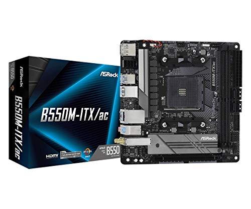 ASRock B550M-ITX/AC Supports 3rd Gen AMD AM4 Ryzen/Future AMD Ryzen Processors Motherboard