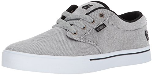 - Etnies Men's Jameson 2 ECO Skate Shoe, Black/Charcoal/Silver, 8 Medium US