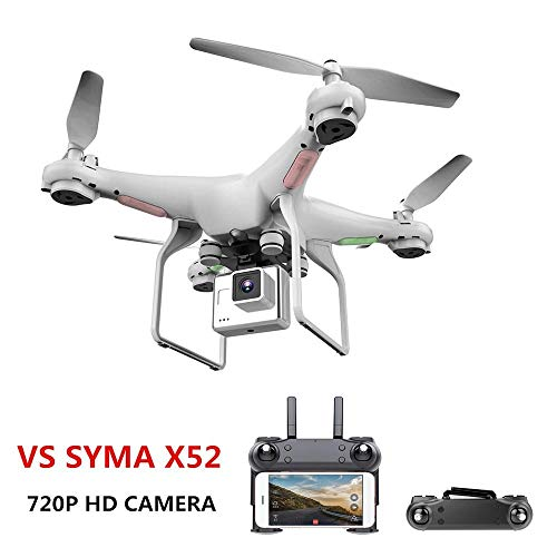 Drone With Camera 720P Upgrate New HD 0.3W White Hover Helikopter VS SYMA X52 Dron RC Drone Full hd Camera Drone Professional