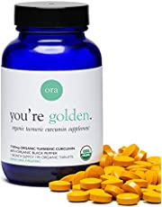 Ora Organic You're Golden Organic Turmeric Curcumin, 90ct
