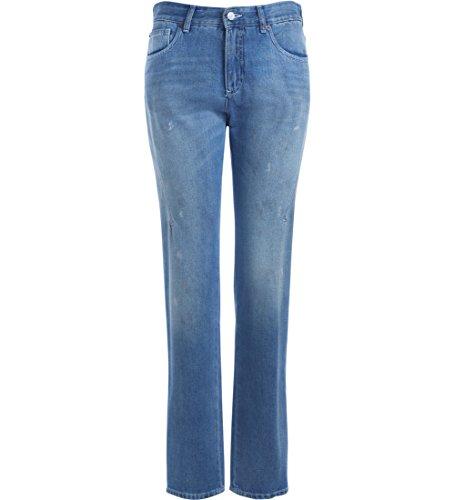 Jeans Used Mm6 Margiela Denim Effetto Blu Maison BwpzqR