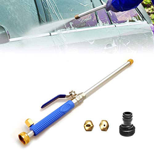 High Pressure Power Washer Wand, High Pressure Water Hose Attachment Spray Nozzle, Perfect for Washing Cars, Watering Garden & Lawns, Patio's, Sidewalks, Siding and Garage - Water Hose Coupling
