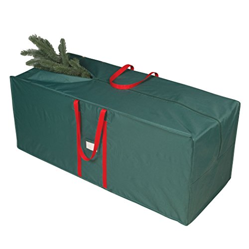 Richards Homewares Christmas Tree Storage Bag - Fits Trees Up to 8 Feet - Durable with Easy to Carry Handles - Xmas Holiday Tree Organizer and Artificial Holiday Tree Storage Bag (Christmas Homeware)