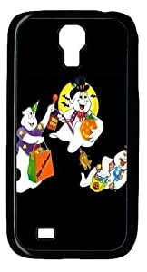 Cool Painting Cartoon Characters Celebrate Halloween Polycarbonate Hard Case Cover for Samsung Galaxy S4/I9500