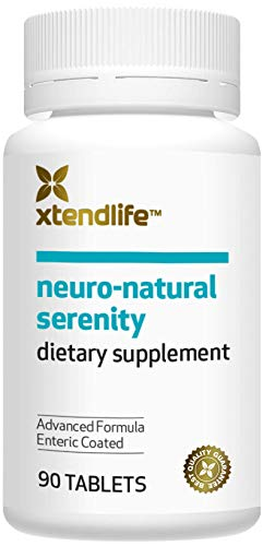 xtendlife Neuro-Natural Serenity. Stress Relief Supplement for Anxiety Relief and Mood Support.(90 Tablets)