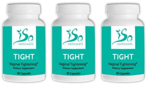 IsoSensuals TIGHT | Vaginal Tightening Pills - 3 Bottles