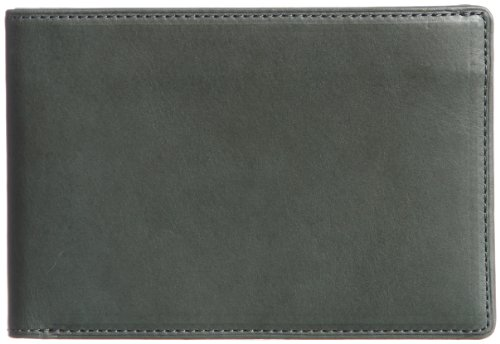 THINly Leather Bifold Wallet SLBS01 Dark Green by THINly