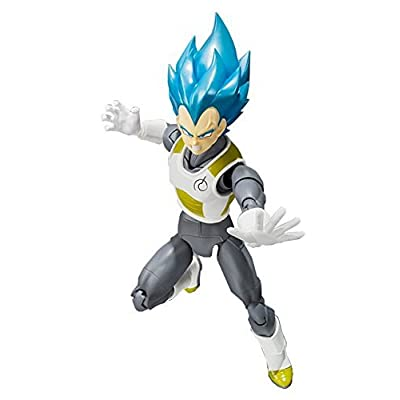 TAMASHII NATIONS Bandai Super Saiyan God Super Saiyan Vegeta Dragon Ball Super Action Figure: Toys & Games
