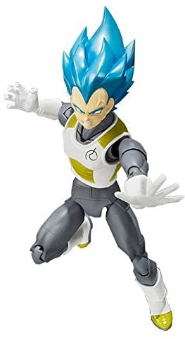 In STOCK Dragon Ball Stars Dragonball Super Saiyan God Blue Vegeta Action Figure
