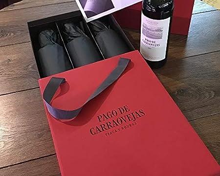 Pago de Carraovejas - Estuche Regalo Vino Edición Limitada seleccionado y enviado por Cosecha Privada. 3 Botellas