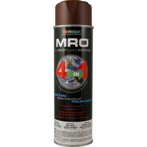 MRO Industrial Primer 15 to 17 Oz. Red Oxide Primer 6 Cans/Case from Seymour