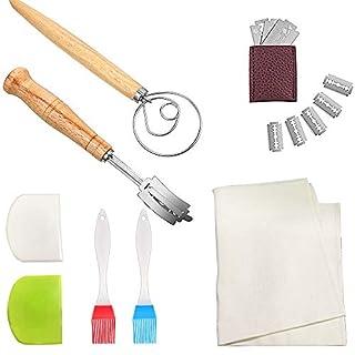 Danish Dough Whisk Bread Mixer, Dough Whisk Set, Kitchen Bread Baking Tools Bread Dough Hook