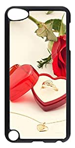 iPod Touch 5 Cases & Covers - Valentines Diamond Ring Custom PC Soft Case Cover Protector for iPod Touch 5 - Transparent