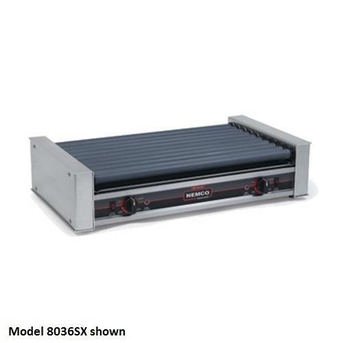 Nemco - 8045SXN - Non-Slip Gripslt 45 Hot Dog Roller Grill by Nemco