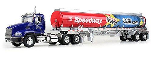 Gasoline Truck - First Gear Speedway Gasoline Tanker 1:64 Scale Diecast Truck Retired Model-New in Box & Rare Find!