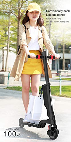High Speed Electric Scooter-Portable Folding-Electric Scooter, with Bluetooth Speaker + Charging Treasure,Lightweight,the top speed 15.5 Miles Range of Riding, Foldable,ergonomics Scooters for Teenage