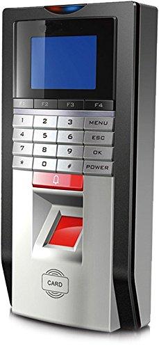 Amazon.com : 4 Puertas Biometric Fingerprint & RFID Control de los kits de sistema Bloqueo magnético 110-240V Alimentación Llaveros RFID Push to Exit Button ...