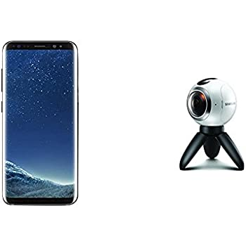 Samsung Galaxy S8+ and Gear 360 Real 360° High Resolution VR Camera