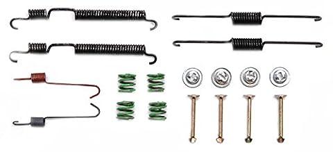 ACDelco 18K1065 Professional Rear Drum Brake Shoe Adjuster and Return Spring Kit - Rear Brake Return Spring