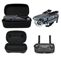 Mini Foldable Drone Body and Remote Controller Transmitter Bag Hardshell Housing Bag Storage Box for DJI Mavic Pro Platinum Drone