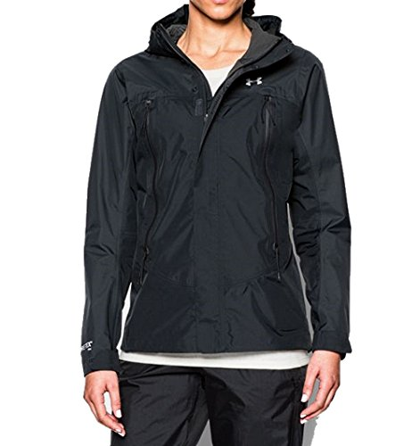 Under Armour Women's UA Hurakan Paclite Jacket, Black XL (US 16)