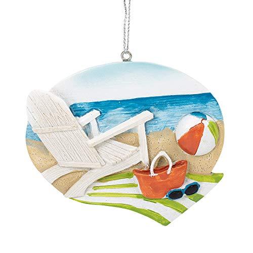 Beach Days Seashore Ornament