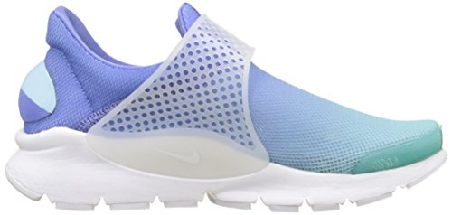 Br WMNS Nike White Polarized Blue Still Dart Damen Sock Trainer Blue Elfenbein Schwarz qrw5Iqv