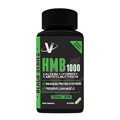 VMI Sports HMB Supplement, Maximum Strength 1000mg Per Serving, 90 Capsules, Enhance Protein Synthesis, Promote Muscle Recovery and Repair, Support Lean Muscle Growth & Endurance