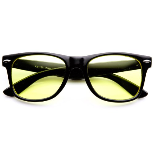 zeroUV Tinted Classic Rimmed Sunglasses