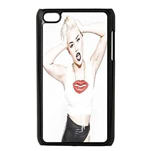ZK-SXH - Miley Cyrus Diy Cell Phone Case for iPod Touch 4, Miley Cyrus Personalized Cover Case
