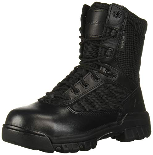 """Bates Women's 8"""" Tactical Sport CT Fire and Safety Boot, Black, 6 M US"""