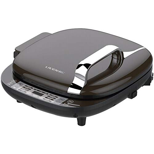 Liven Electric Baking Pan Skillet Griddle LR-D7350, 3 Power Control, Digital Display, Easy to Clean