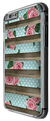 1425 - Cool Fun Trendy cute shabby chic floral flowers roses shelves furniture (2) Design iphone 4 4S Coque Fashion Trend Case Coque Protection Cover plastique et métal - Clear
