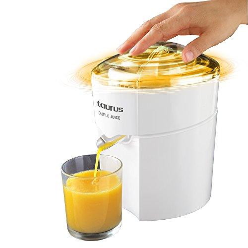 Taurus Duplo Juice 924.174, 30 W, 1 Liter, 0 Decibelios, PU Acero Inoxidable