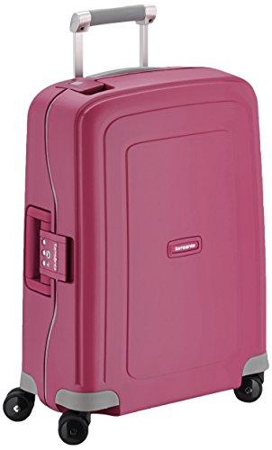 Samsonite S'Cure Spinner 55/20 – Equipaje de cabina, talla 55 x 40 x 20 cm, color rosa