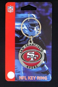 San Francisco 49ers NFL Logo Key Ring