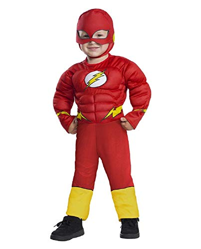Warner Bros. The Flash Muscle Costume (3T - 4T)
