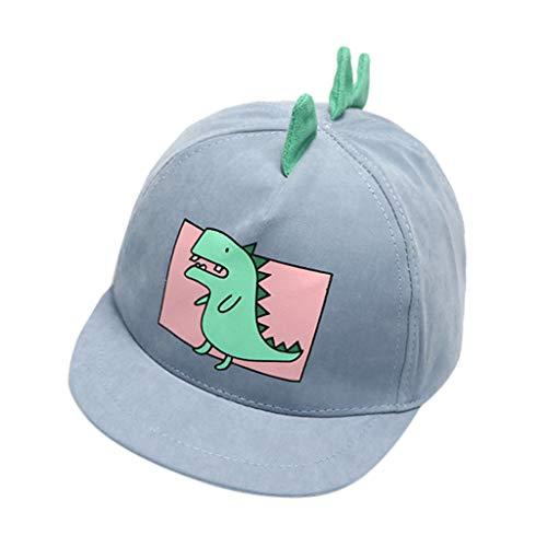 ❤Ywoow❤ Baby Clothes Set, Baby Boy Hats Soft Cotton Dinosaur Sunhat Eaves Baseball Cap Sun Hat Beret