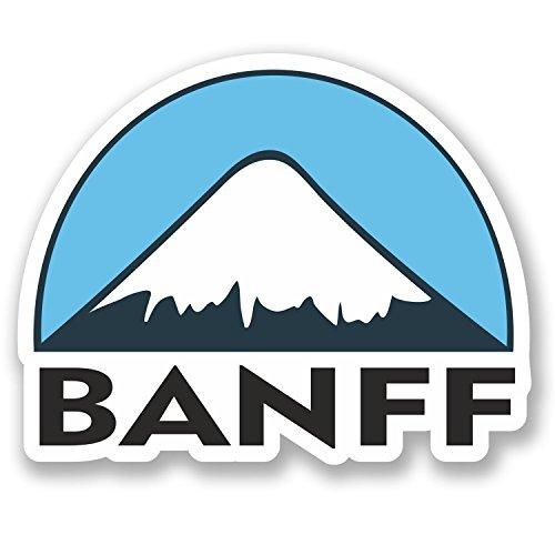 Banff Ski Snowboard Vinyl Stickers product image