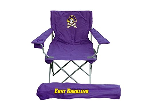 Rivalry RV181-1000 East Carolina Pirates Adult Chair (East Carolina Pirates Pillow)