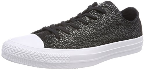 Ox Noir White Converse Baskets Black 001 Adulte CTAS Silver Mixte H4WqBqwnO