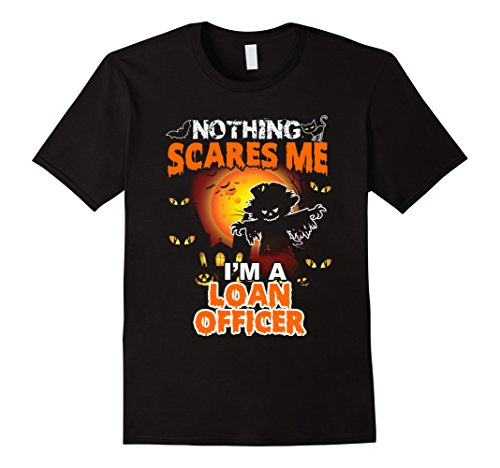 Loan Officer Costume (Mens Funny Loan Officer Halloween Gift T-Shirt Large Black)