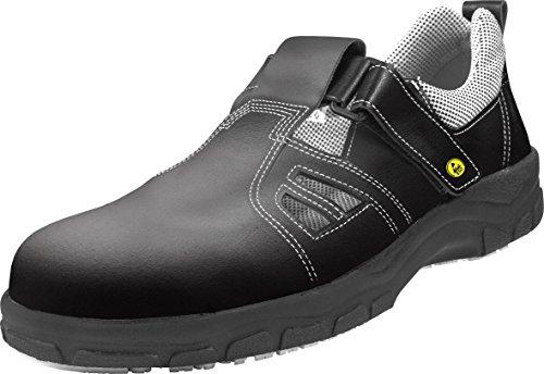 schürr SCR Mujer Zapatos de seguridad S1con puntera y suela antideslizante negro